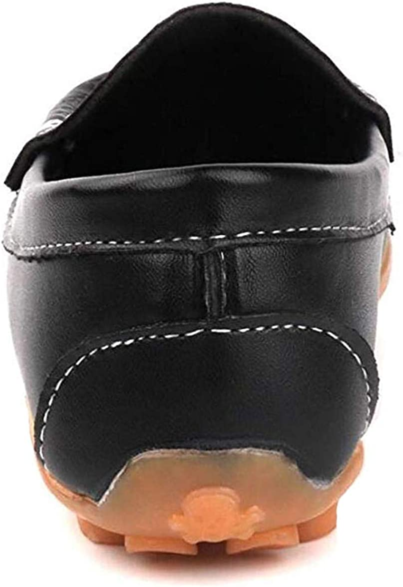 Amitafo Gar/çons Chaussure Bateau Cuir Mocassin Enfant Loisirs Confort Chaussures Fille Plates Loafers Mode Princesse Oxford Chaussures