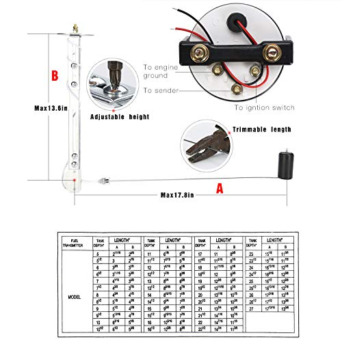 KIMISS Car Fuel Pressure Regulator Control Actuator Valve Adjustable Fuel Pressure