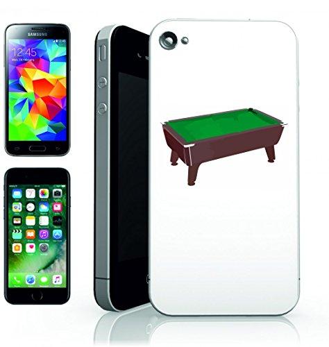 Smartphone Case Piscina di tavolo di gioco di biliardo di verde del panno di feltro di recupero di giocare della Concorrenza di divertimento della sfera di Hobby per Apple Iphone 4/4S, 5/5S, 5C, 6/