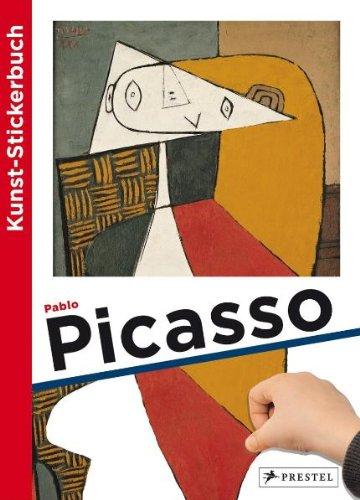 Kunst-Stickerbuch Pablo Picasso