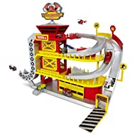 Tonka Tinys Ultimate Rescue Response Station Large Car Vehicle Kids Playset Features 3 levels of Tonka Tinys Fun, Great Gift For Kids