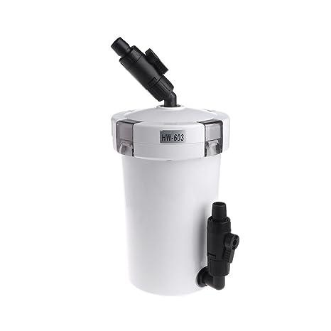 CADANIA HW603 Acuario Filtro Acuario Externo Herramientas de Accesorios de Agua Dulce - 220-240V