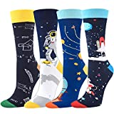 Seafirst Novelty Socks Colorful Funny Mens Crew...