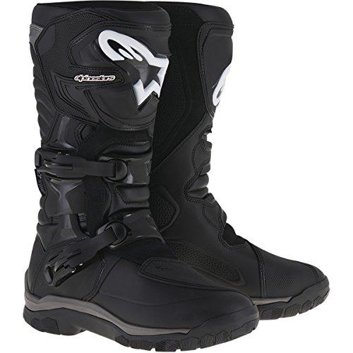 (Alpinestars Corozal Adventure Drystar Men's Motorcycle Touring Boots (Black, US Size 12))