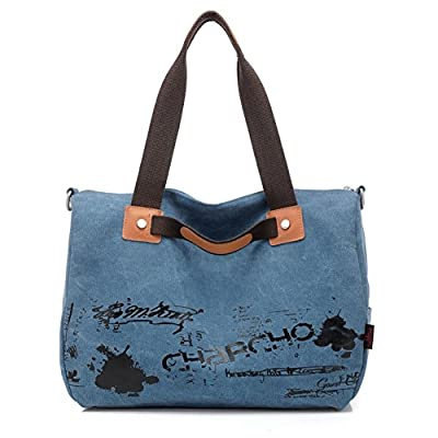 JOYSKY HB440066 Spring Canvas Korean Style Women's Handbag,Square Cross-Section Hawksbill Package