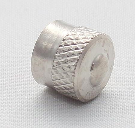 5x Ventilkappen Kurz Leicht Metall Mit Gummiring Dichtung Farbe Silber Chrom Ventilkappe Vsk Auto