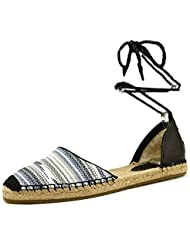 UGG Womens Libbie Serape Leather Flat Sandal