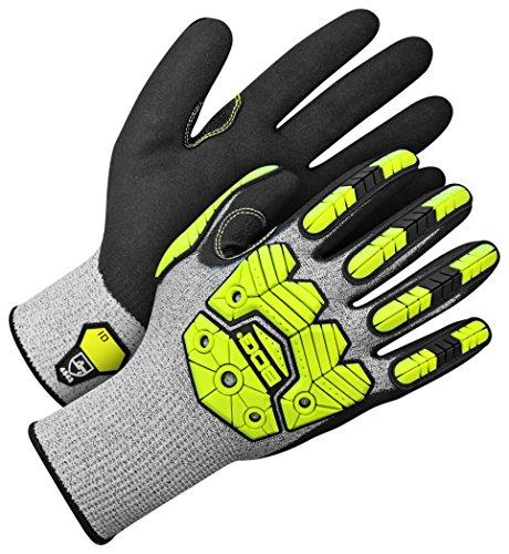 Bob Dale Gloves 20110684X2L Performance Glove Bdg Excavator,