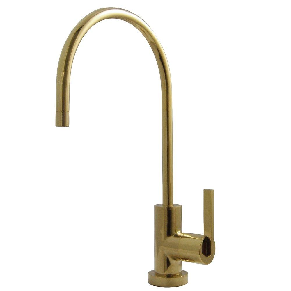 Kingston Brass KS8192CTL 1/4 Turn Water Filter Faucet, Polished Brass