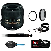 Nikon 40 mm F2.8G AF-S DX Micro Nikkor Lens + Tiffen 52mm UV Protector + Tiffen 52mm Circular Polarizing Lens Filter + Focus Lens Cap Keeper + Accessory Kit