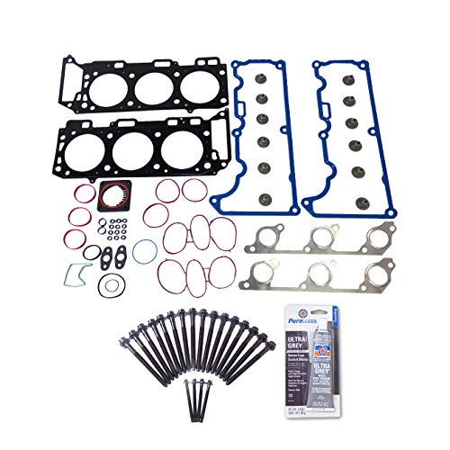 Head Gasket Set Bolt Kit Fits: 97-00 Ford Explorer Mountaineer 4.0L V6 SOHC 12v VIN ()