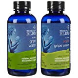 Mommy's Bliss Gripe Water Original & Apple Flavored, Twin Pack