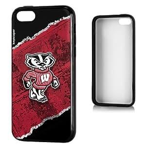 Wisconsin Badgers iphone 4s Bumper Case Brick NCAA