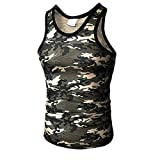 Pitauce Men's Sleeveless Tees Workout Muscle Bodybuilding Tank Tops Shirts Sport Sweatshirts Gray