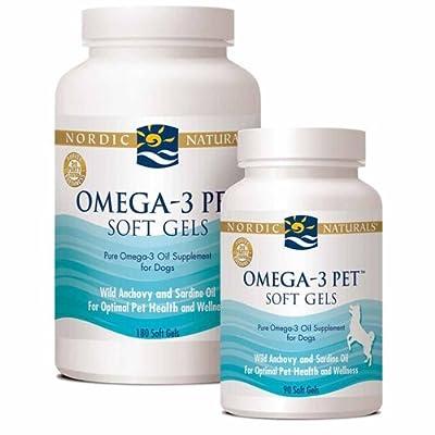 Nordic Naturals - Omega-3 Pet Soft Gels, Promotes Optimal Pet Health and Wellness