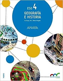 Resultado de imagen de Libros de anaya Geografia e historia