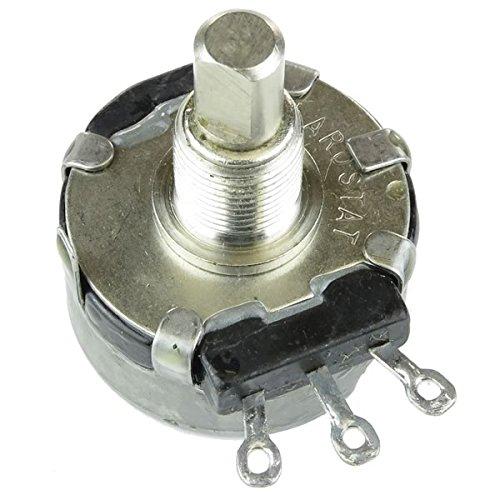(F #51) CLAROSTAT 2.5K 2Watt Linear Taper Potentiometer ¼ X 0.35