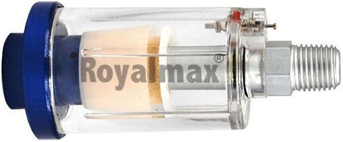 Royalmax Druckluft Mini Filter Luftfilter Wasserabscheider 1 4 Auto