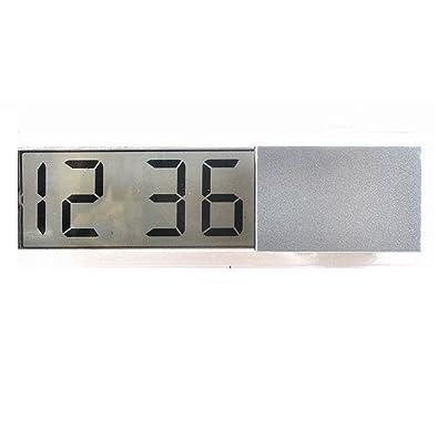 hosaire coche, furgoneta, caravana Interior Salpicadero reloj negro reloj digital dateclock: Amazon.es: Joyería