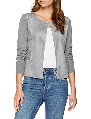 9710 Oliver Happy s Grey Cardigan BLACK Grau Donna LABEL Y6d8W8ZqwH