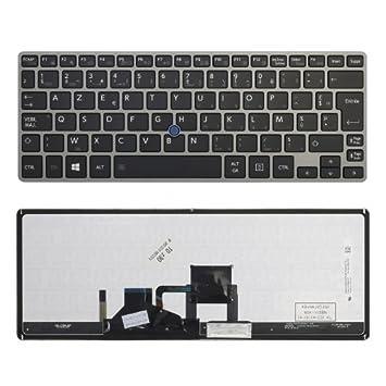 Teclado francés FR para ordenador PC portátil Toshiba Satellite Z30-B Z30-B-100 Toshiba Portege ...