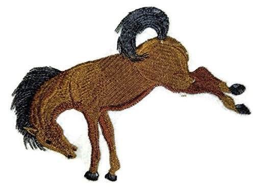 (BeyondVision Custom and Unique Spirit of Stallions [Bucking Bronco Horse ] [Custom and Unique] Embroidered Iron on/Sew patch [4.99