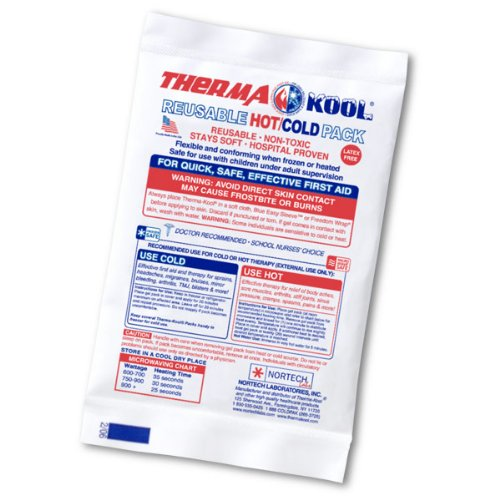 Therma-Kool Reusable Hot Cold Gel Pack, 4'' x 6'' (Mini / Face) - 50/Case by THERMA-KOOL®