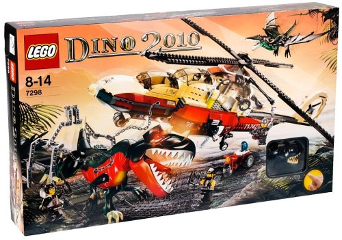 with LEGO DINO design