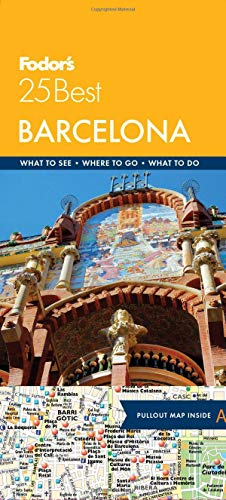Fodor's Barcelona 25 Best (Full-color Travel Guide)