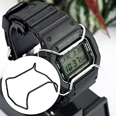 Amazon Com Pukido Stainless Steel Black Watch Case Bumper