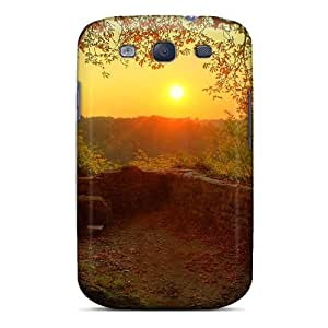 Awesome Design Peaceful Sunset Hard Case Cover For Galaxy S3 by lolosakes