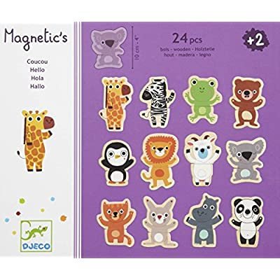 DJECO Coucou Wooden Magnets: Toys & Games