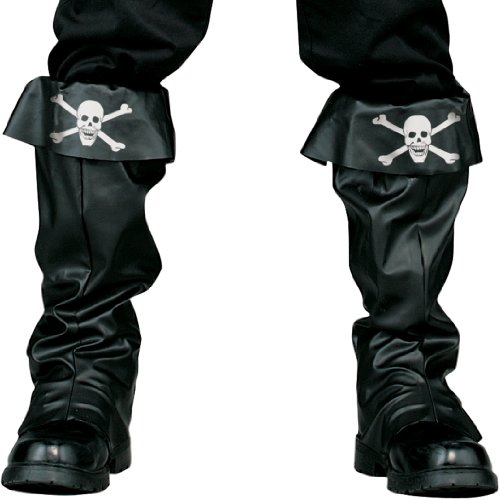 Pirate Skull & Crossbones Boot Covers