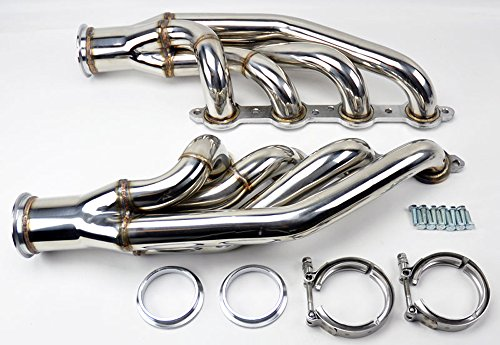 97-14 Chevy Small Block LS1 LS2 LS3 LS6 LSX Turbo Exhaust Manifolds Headers