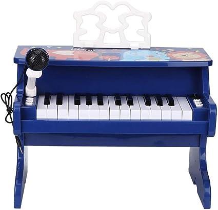 Piano clásico para niños, piano de cola de juguete de madera ...