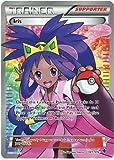 Iris 101/101 Trainer Full Art Plasma Blast Pokemon Card