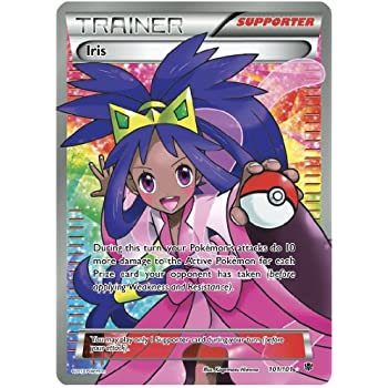 Amazon.com: Iris 101/101 Trainer Full Art Plasma Blast ...