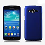 ImagineDesign Rubberised Hard Case For Samsung Galaxy Core 2 SM-G355H (Uber Blue)