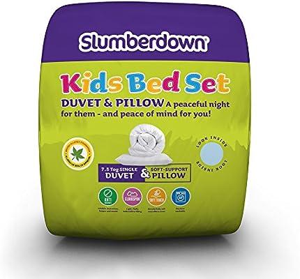 Slumberdown Kids Duvet & Pillows Bed