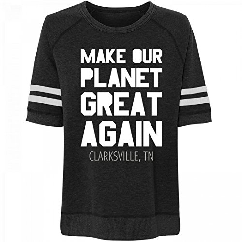 Make Our Planet Great Clarksville, TN: Misses Relaxed Fit Vintage - Clarksville Tn Fit Shop