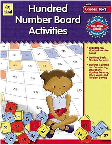 Hundred Number Board Activities Gr K-1 Download.zip