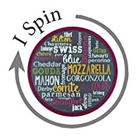 Artisan Cheese Lover Lazy Susan - I Spin