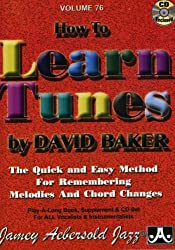 Vol. 76, How To Learn Tunes: A Jazz Musician's Survival Guide (Book & CD Set)