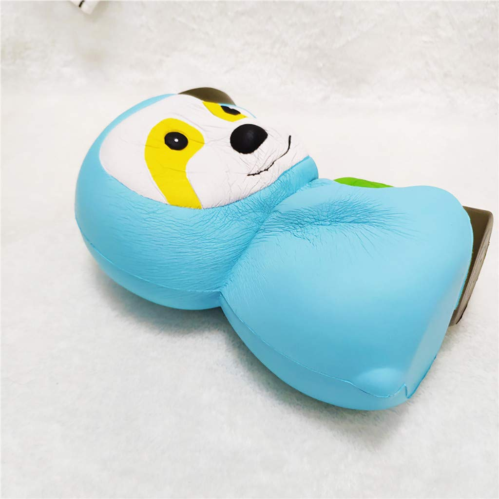 Muqgew Children's Squishy Toys Kid Adult Cute Ble Squishies Soft Sloth Slow Rising Fruit Scented Stress Relief Toys#Y21 U Must Have Gift Wrap Toddler Favourite Superhero Party Supplies by KoreaFashion