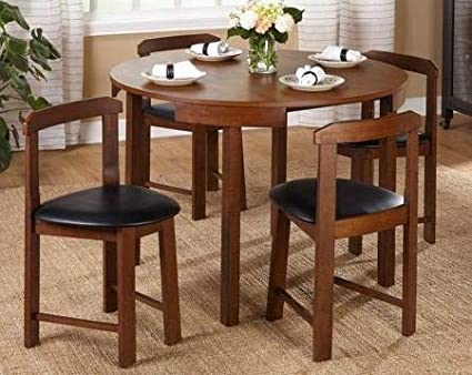 Amazon.com : Dinette Sets For Small Spaces-Dinning Room ...
