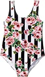 Dolce & Gabbana Kids Baby Girl's Swimsuit One-Piece (Toddler/Little Kids) Stripe Rose 4T