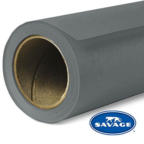 Savage Seamless Background Paper - #54 Charcoal (107 in x 36 ft)