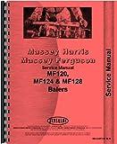 Massey Ferguson 124 Baler Service Manual