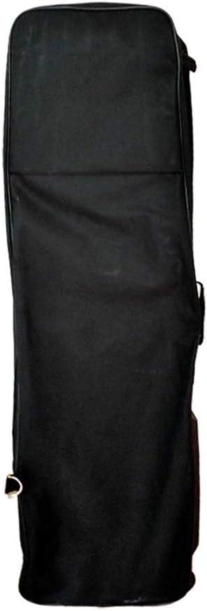 ゴルフ トラベルバッグ 航空カバーにゴルフ旅行バッグ軽量ゴルフ旅行バッグは、耐ケースを着用します キャディバッグ トラベルケース 旅行 宅配 (色 : ブラック, サイズ : 120X34cm)