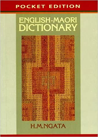 English-Maori Dictionary (Pocket Edition)